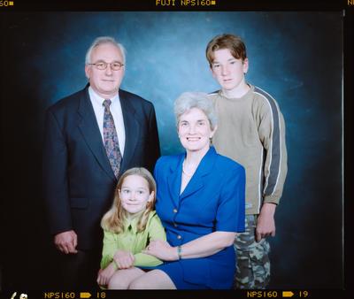 Negative: Grimwood Family Portrait