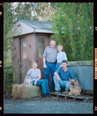 Negative: Blay Family Portrait