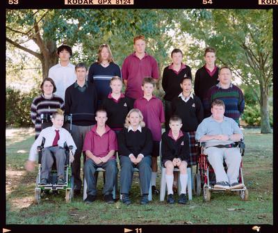 Negative: Mairehau High School Class 1999