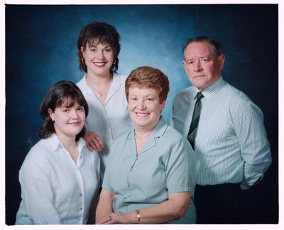Negative: Ellmers Family Portrait