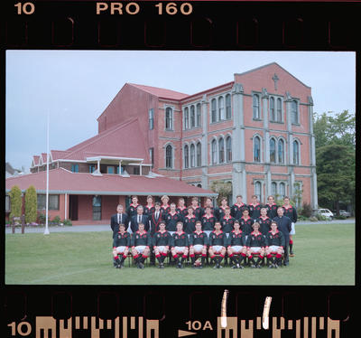 Negative: St Bede's Touring Rugby Team 1999