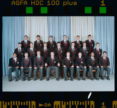 Negative: St Bede's Prefects 1999