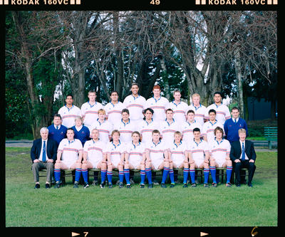 Negative: Southern Regions Rugby 2000