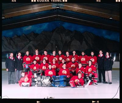 Negative: Canterbury Team Ice Hockey Champs 1999