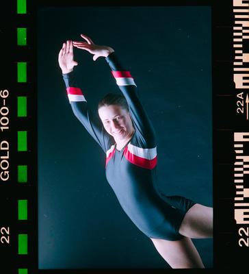 Negative: Laura Miles Gymnast