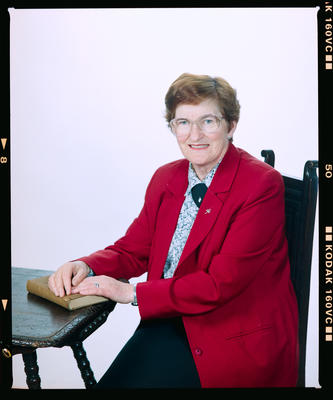 Negative: Sister Collette Portrait