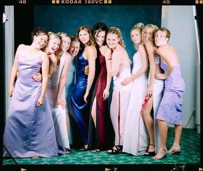 Negative: Marian College Leavers Ball 2000