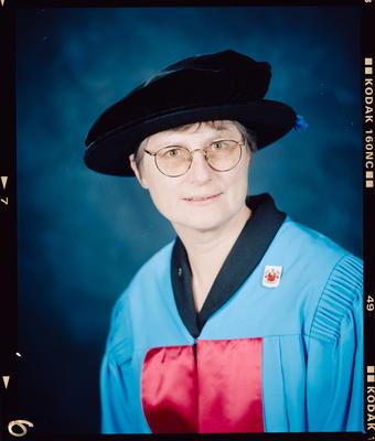 Negative: Doctor Sister Cath Rushton Portrait