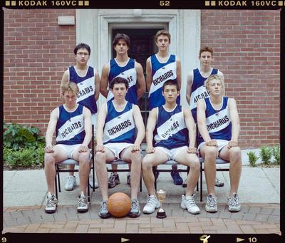 Negative: Christ's College Richards House Basketball Team 2001