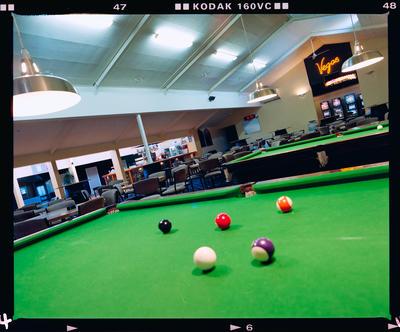 Negative: St Albans Shirley Working Men's Club Interior