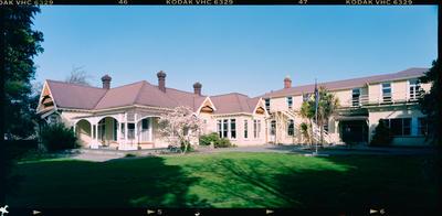 Negative: CBHS Adams House Exterior