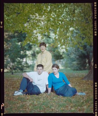 Negative: Murphy Family Portrait
