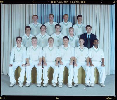 Negative: SBHS Cricket Tour Team 2001