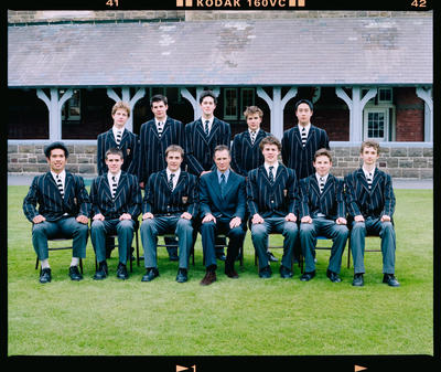 Negative: Christ's College Julius House Prefects 2003