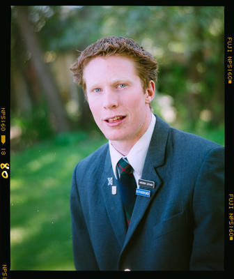 Negative: St Andrew's College Prefect Andrew Letham 2004