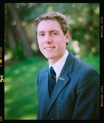 Negative: St Andrew's College Prefect Brendan Kite 2004