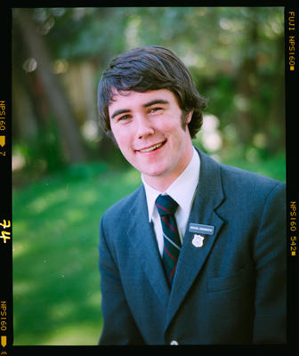 Negative: St Andrew's College Prefect Michael Greenwood 2004