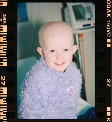 Negative: Child Cancer Portraits Unnamed Child