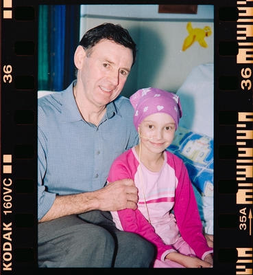 Negative: Child Cancer Portraits Unnamed Child And Man