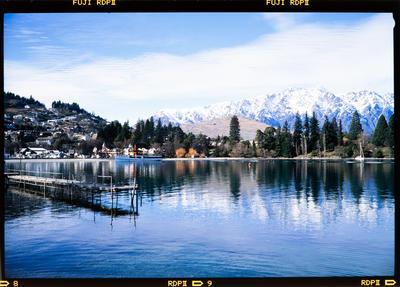 Transparency: Lake Wakatipu In Winter