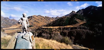 Transparency: Monument To Pioneer Women Shotover Valley