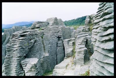 Slide: Pancake Rocks Punakaiki