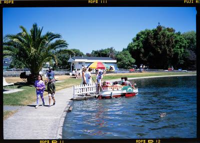 Transparency: Model Boat Pond Nelson