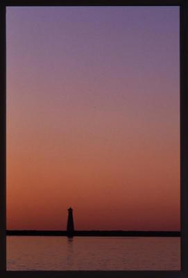 Slide: Lighthouse At Sunset