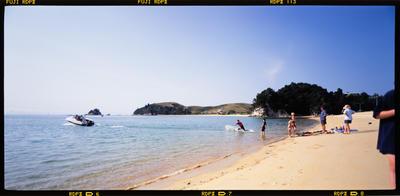 Transparency: Kaiteriteri Beach