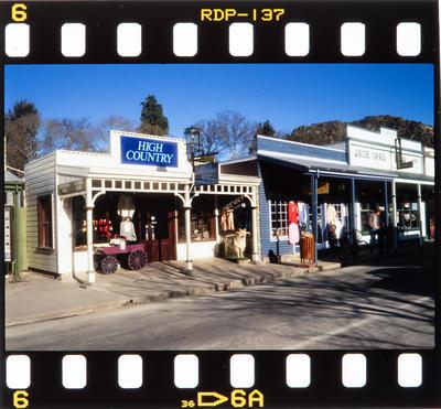 Transparency: Shops In Arrowtown