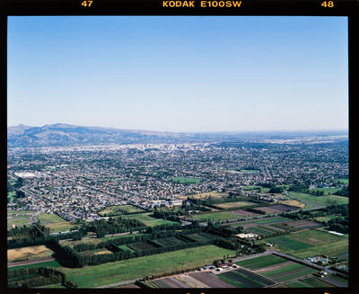Transparency: Aerial View Of Christchurch