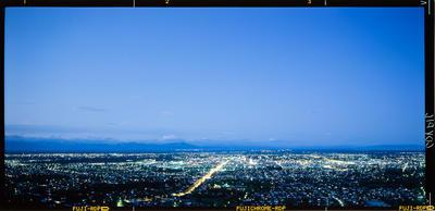 Transparency: Christchurch At Night
