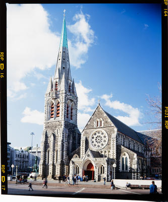 Transparency: ChristChurch Cathedral