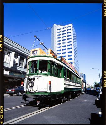Transparency: Christchurch Tram