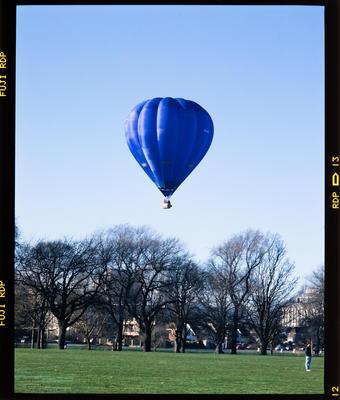 Transparency: Hot Air Balloon Hagley Park