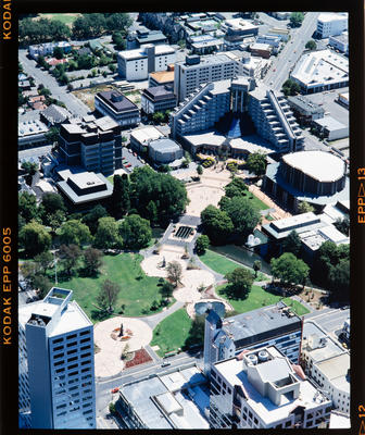 Transparency: Aerial View Victoria Square