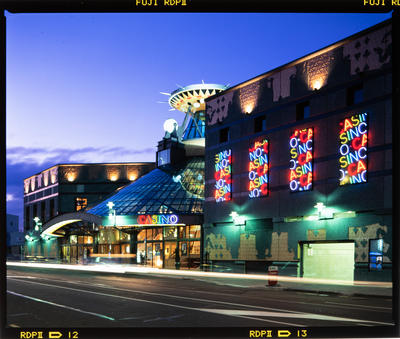 Transparency: Christchurch Casino At Night