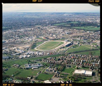 Transparency: Aerial View Addington Raceway