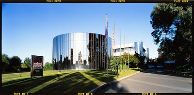 Transparency: Unisys Building Christchurch Technology Park