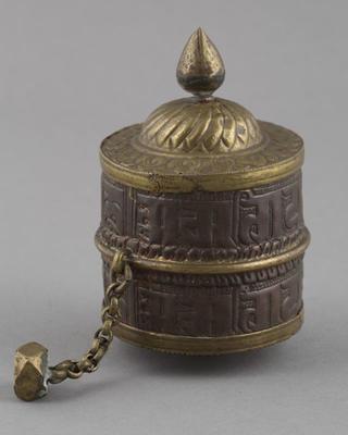 Instrument: prayer wheel