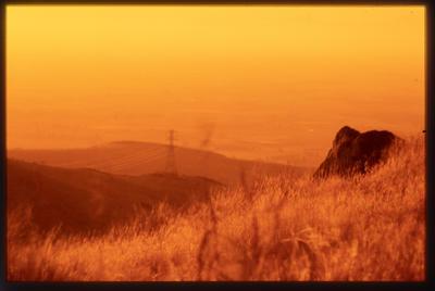 Slide: Port Hills Sunset