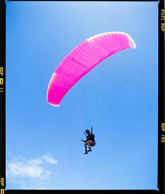 Transparency: Paraglider