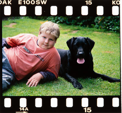 Transparency: Stuart Hunter And Dog