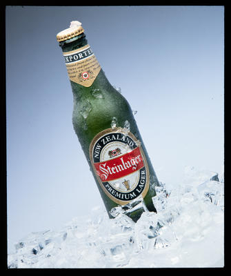 Transparency: Steinlager On Ice