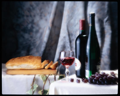 Transparency: Wine And Bread