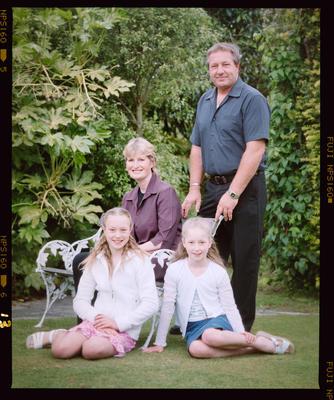 Negative: Tracey Ross Family Portrait