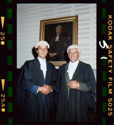 Negative: Admitted To The Bar