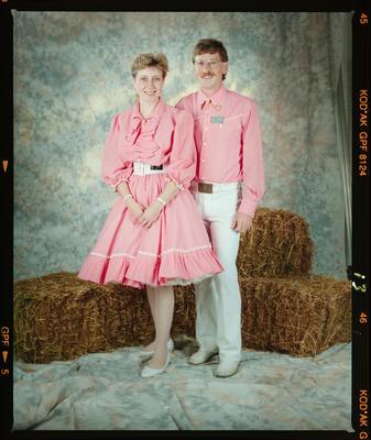 Negative: Square Dancing Couple
