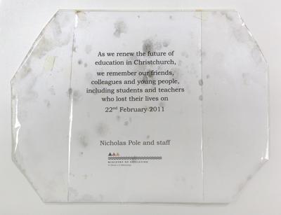 Tribute: Notice