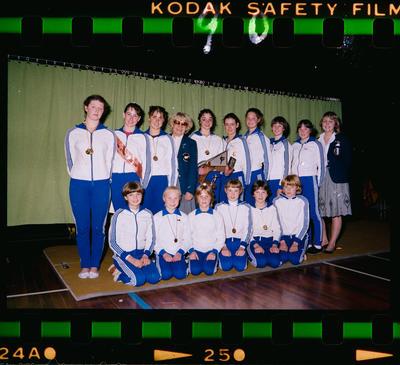 Negative: National Gymnastics Championships Team 1983